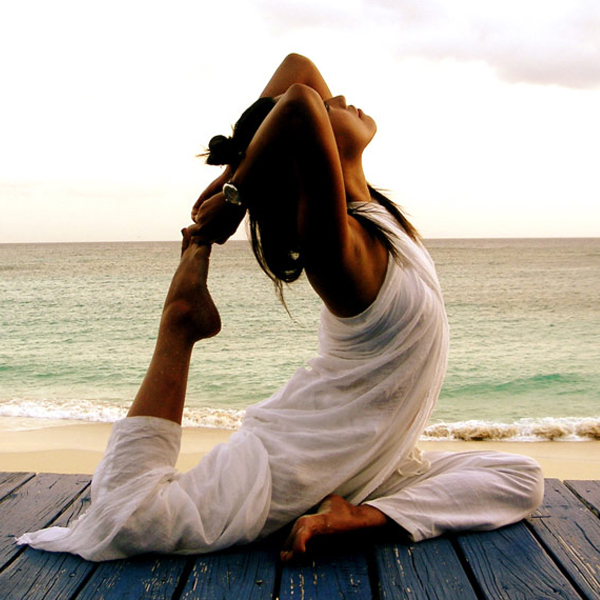 When you stretch, ease your body into position until you feel the stretch and hold it for about 25 seconds. Breathe deeply to help your body move oxygen-rich blood to those sore muscles. Don't bounce or force your